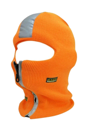 Zipper Mask Orange (BEAN010) - Zamage