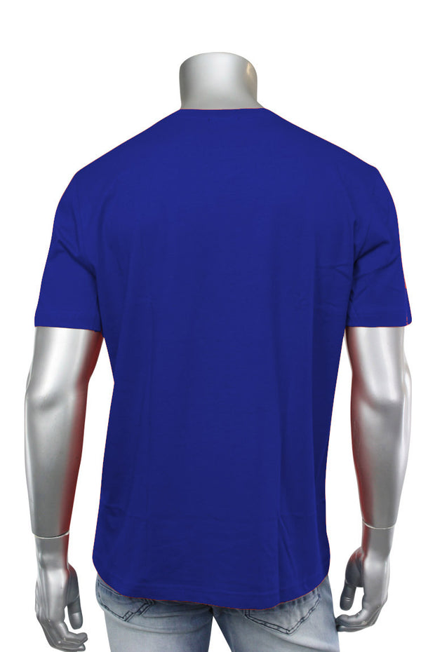 Crew Neck Tee Royal Blue (RCR) - Zamage