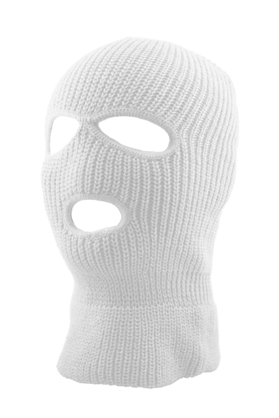 Full Face Mask White (SFBEAN011) - Zamage