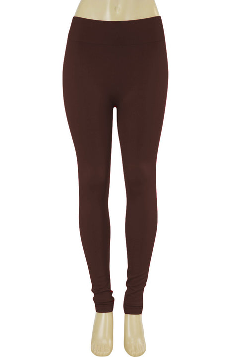 Solid Leggings Chocolate (ZMONEY300)