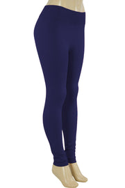 Solid Leggings Navy (ZMONEY300)
