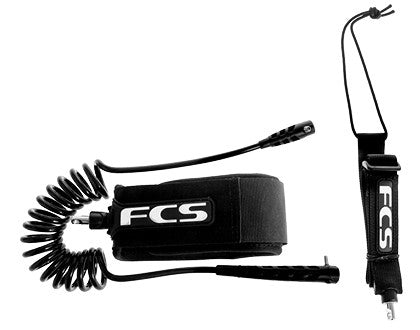 FCS SUP Adjustable Ankle Racing Leash - Open Ocean Outrigger & SUP