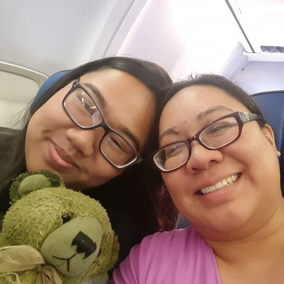 February 2019: Kimberly & Kaitlyn Gogue from Guam