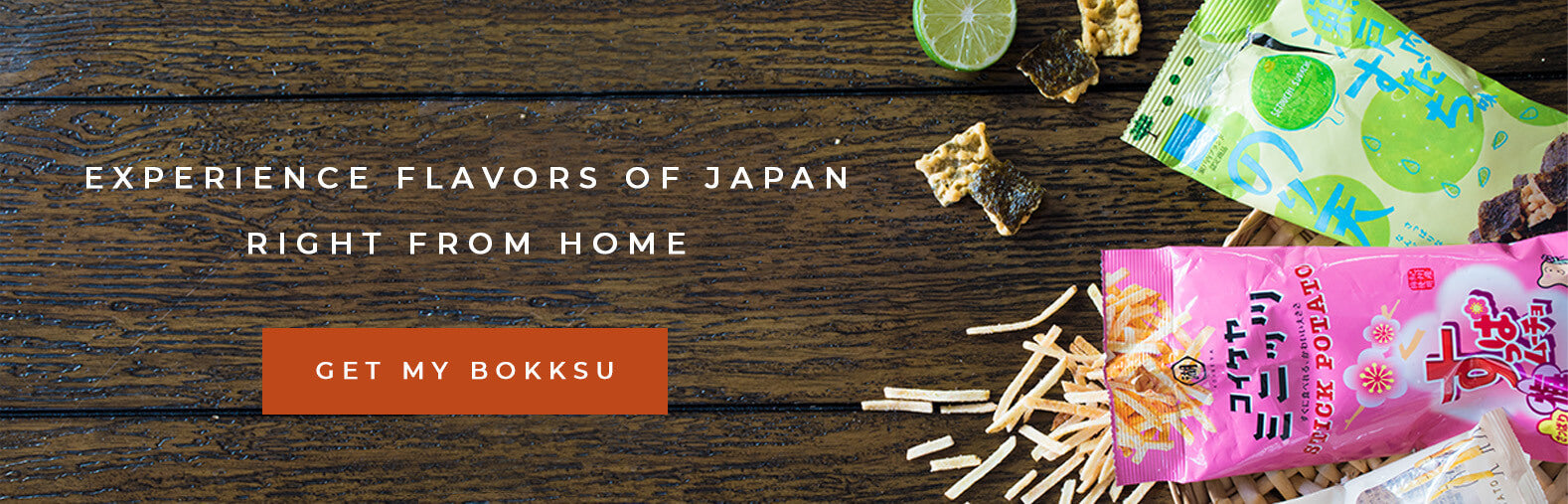 Experience flavors of Japan right from home