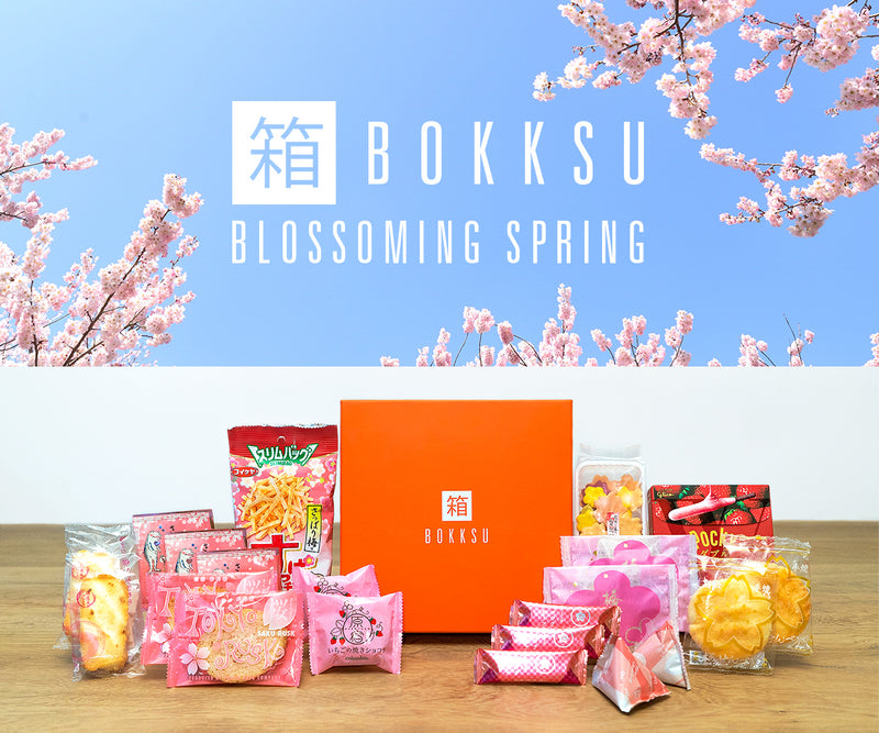April '18 Classic Bokksu: Blossoming Spring