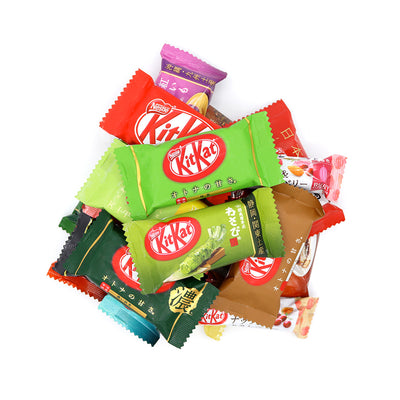 Japanese Kit Kat: Variety Box (20 Flavors, 60 Pieces)