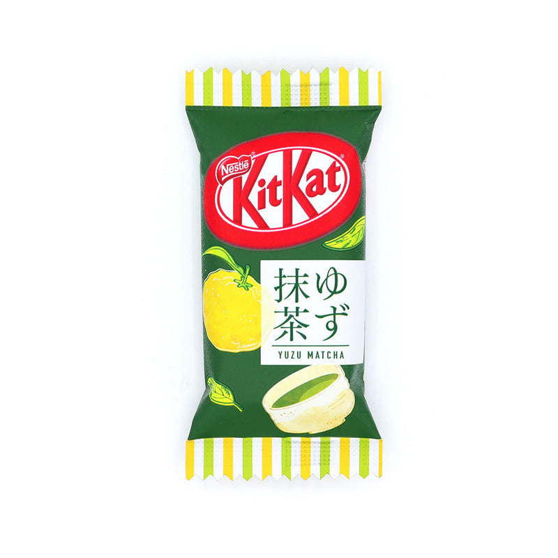 Japanese Kit Kat: Yuzu Matcha (11 Pieces)