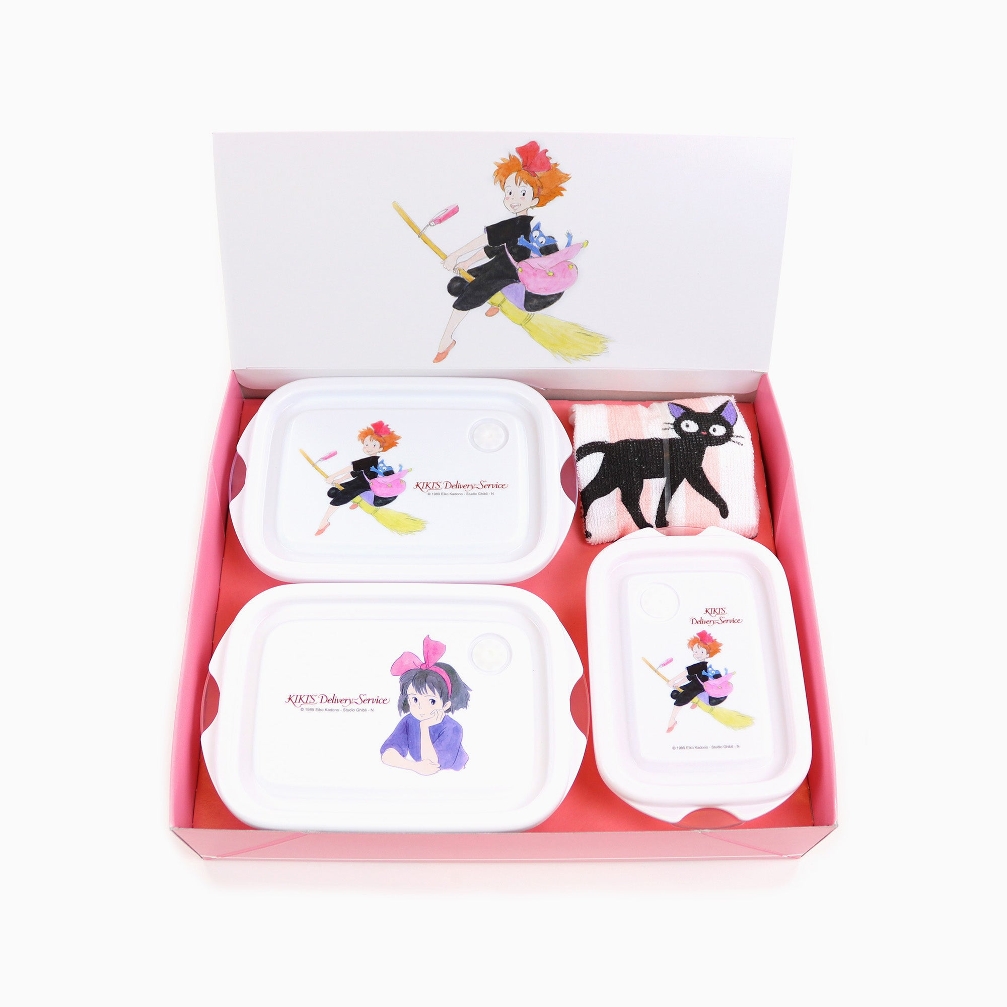 Kiki's Delivery Service Food Containers + Towel