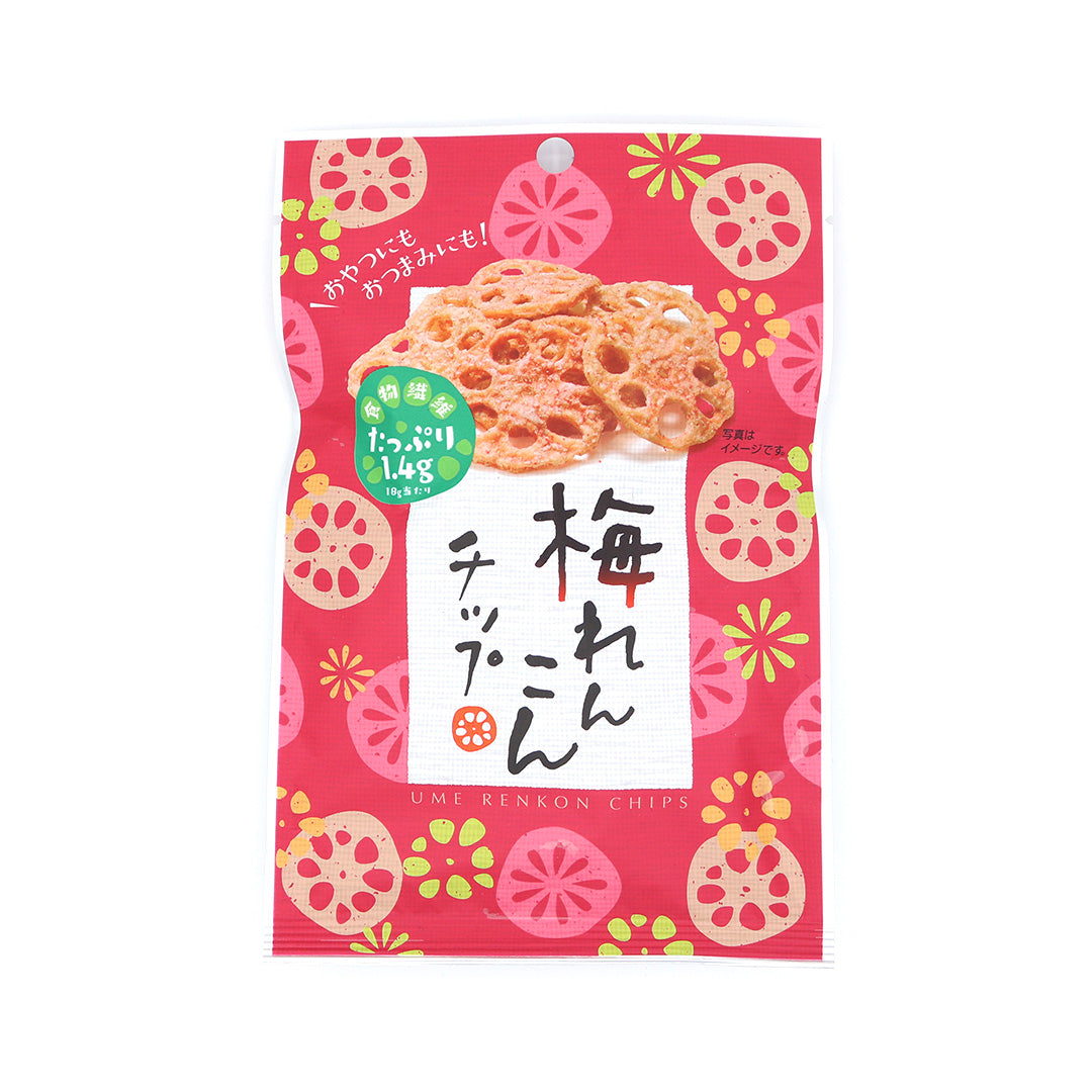 Lotus Root Chips: Plum Flavor (1 Bag)