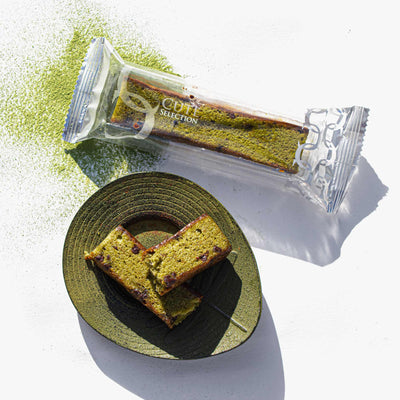 Matcha Chocolate Stick Cake