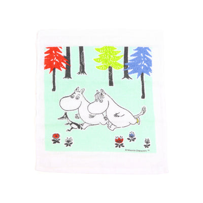 Moomin Food Container + Towel