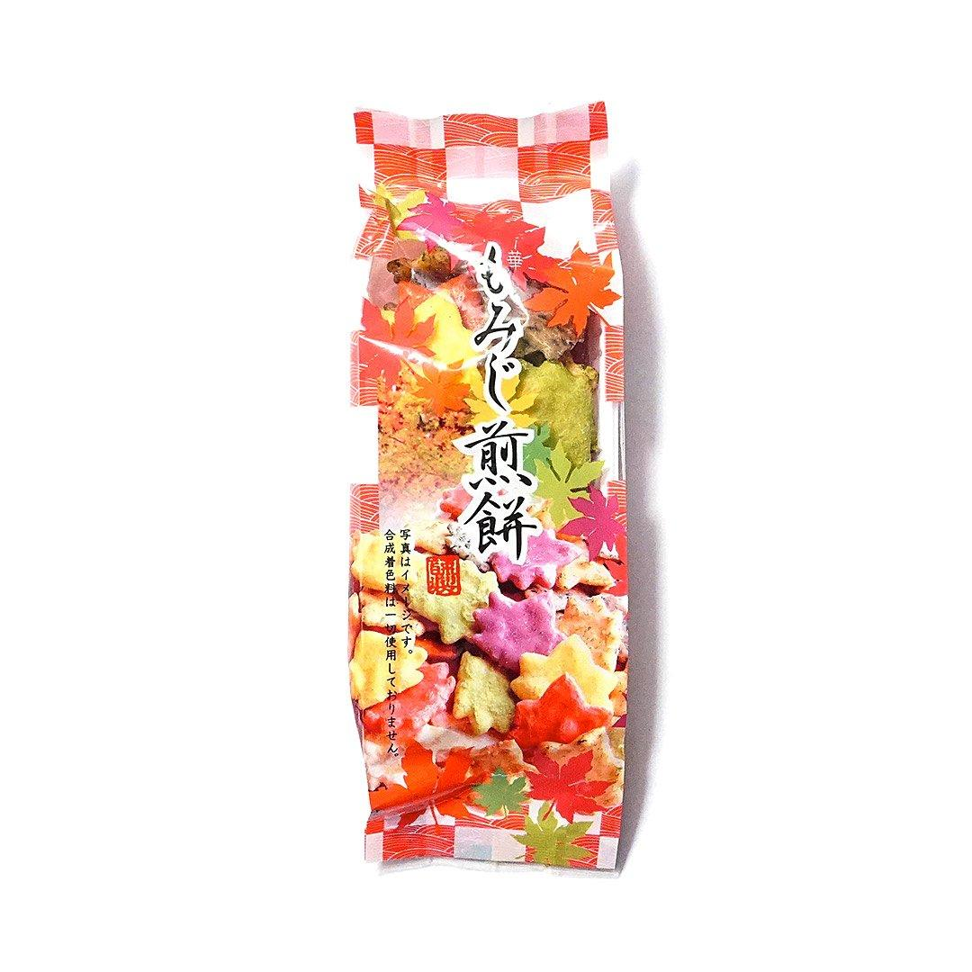 Fall Foliage Senbei Rice Crackers (1 Bag)