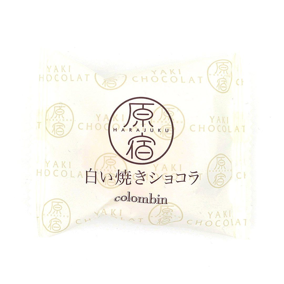Harajuku Baked Chocolate: White Chocolate (12 Pieces)