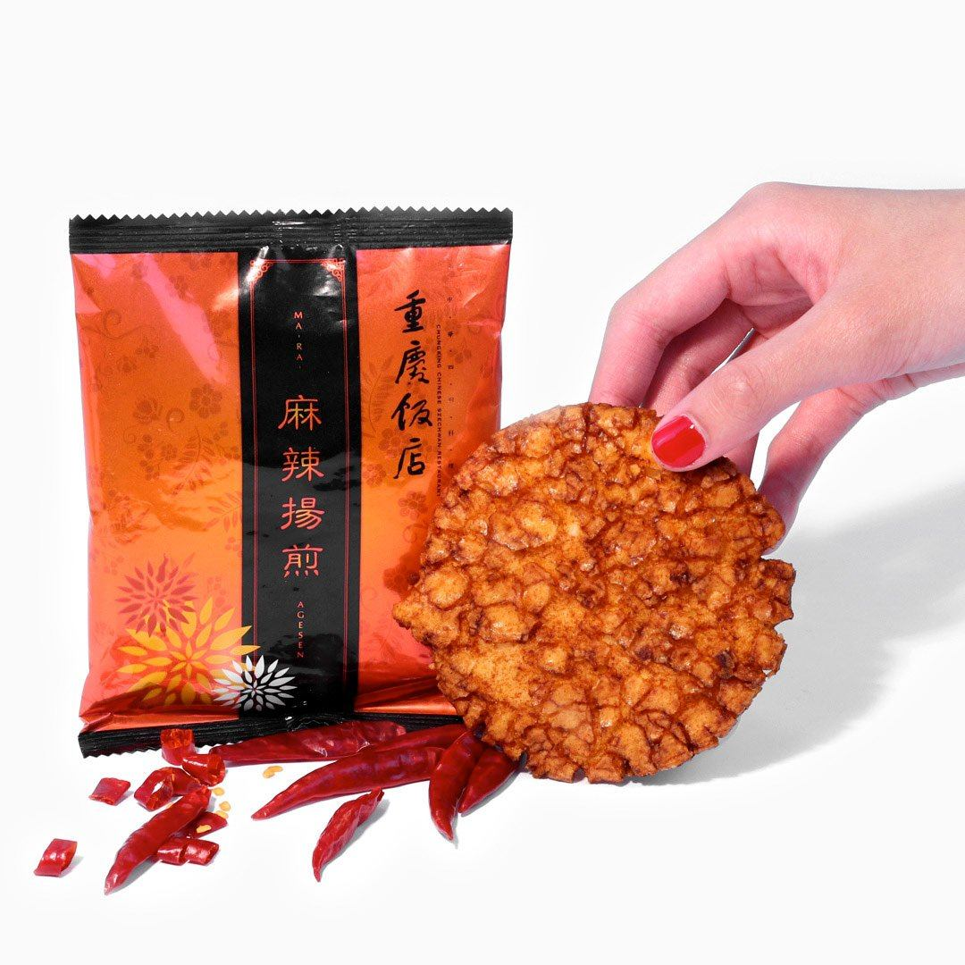 Mala Agesen Fried Rice Cracker