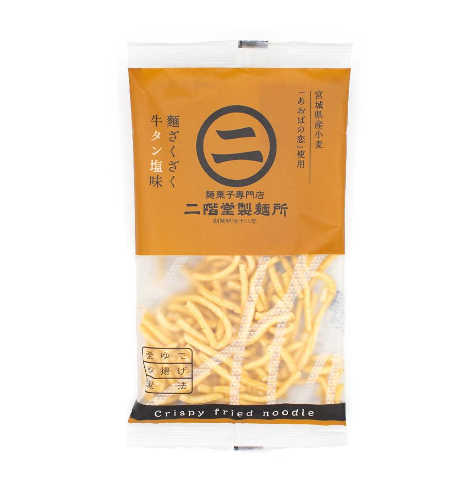 Men Zakuzaku Ramen Sticks: Gyutan + Salt Flavor (1 Bag)