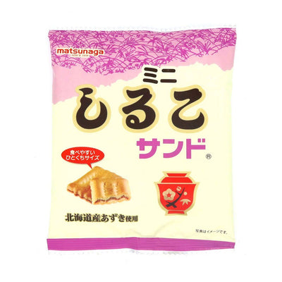 Market - Mini Red Bean Crackers (6 Packs)