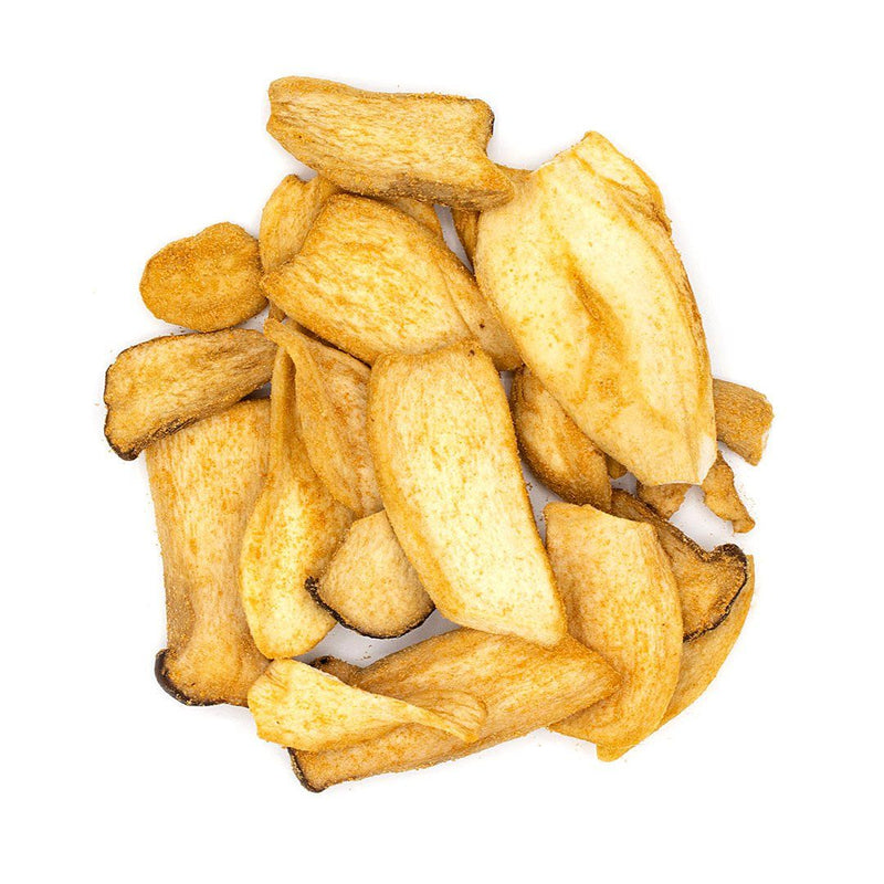 Mushroom Chips: Butter and Soy Sauce Flavor