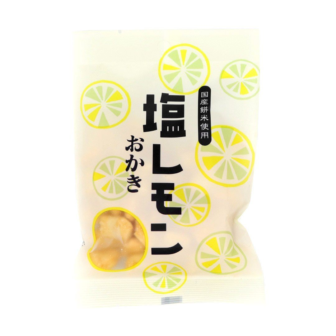 Okaki Rice Crackers: Lemon and Salt (1 Bag)
