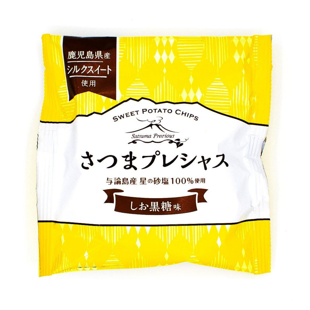 Satsuma Precious Chips: Salt + Brown Sugar Flavor package