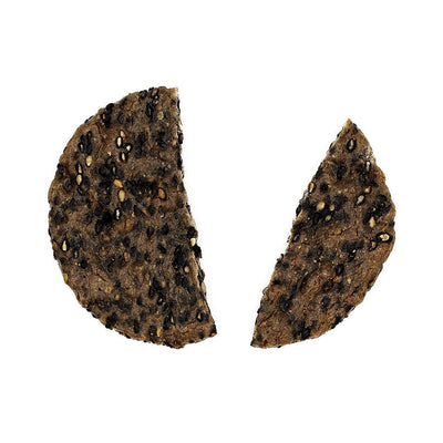 Past Snack - Black Sesame Genmai Rice Cracker: Honey Soy Sauce Flavor