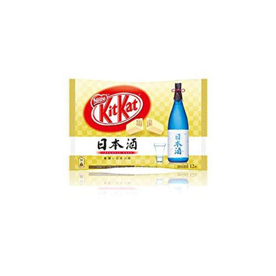Past Snack - Japanese Kit Kat: Sake 日本酒
