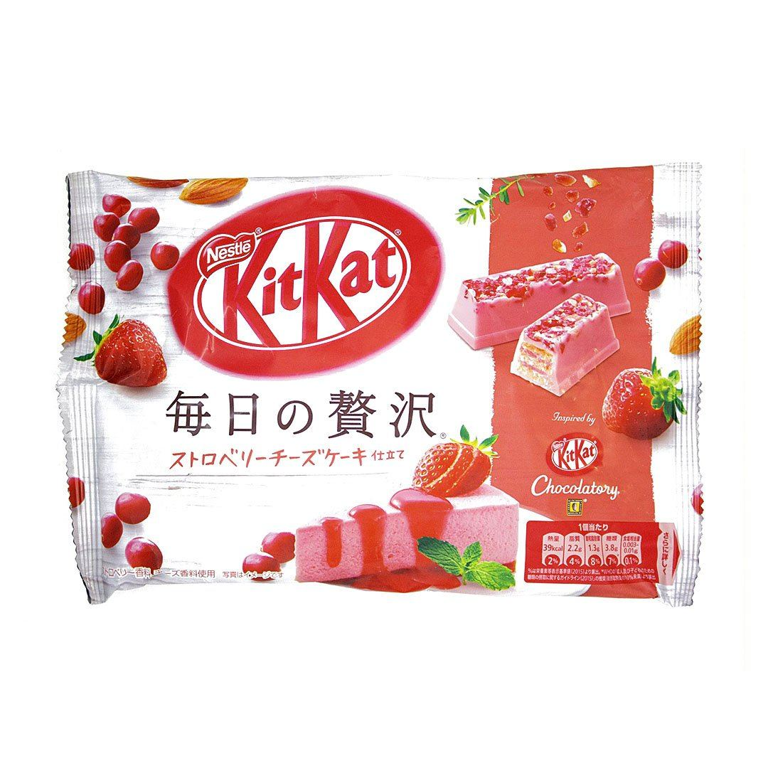 Japanese Kit Kat: Strawberry Cheesecake