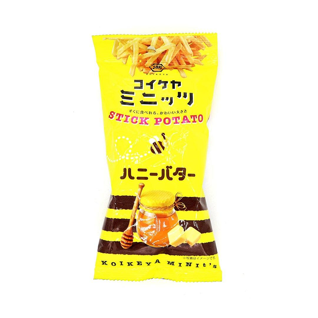 Past Snack - Koikeya Minit's Stick Potato: Honey Butter
