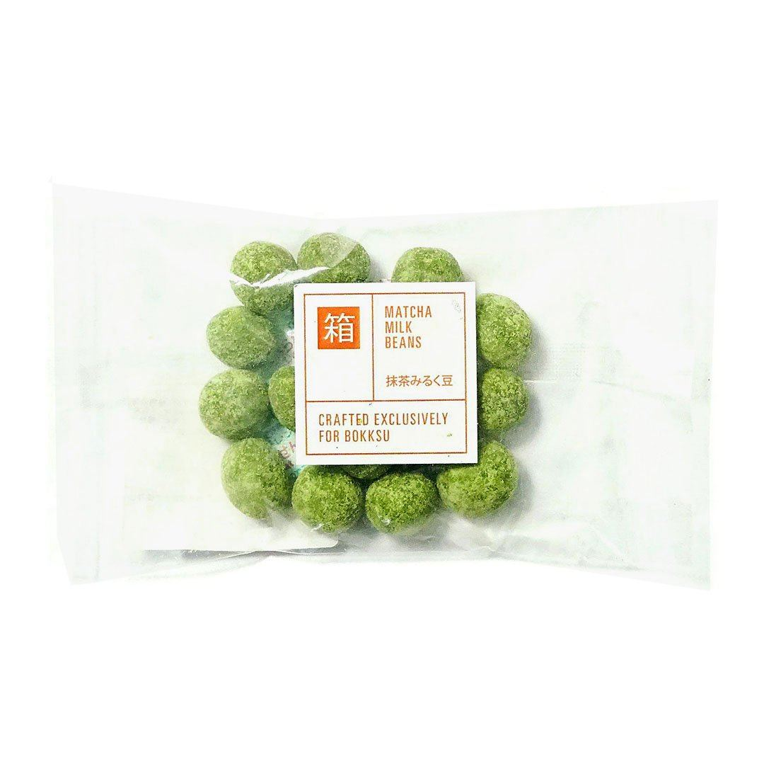 Past Snack - Matcha Milk Beans (1 Bag)