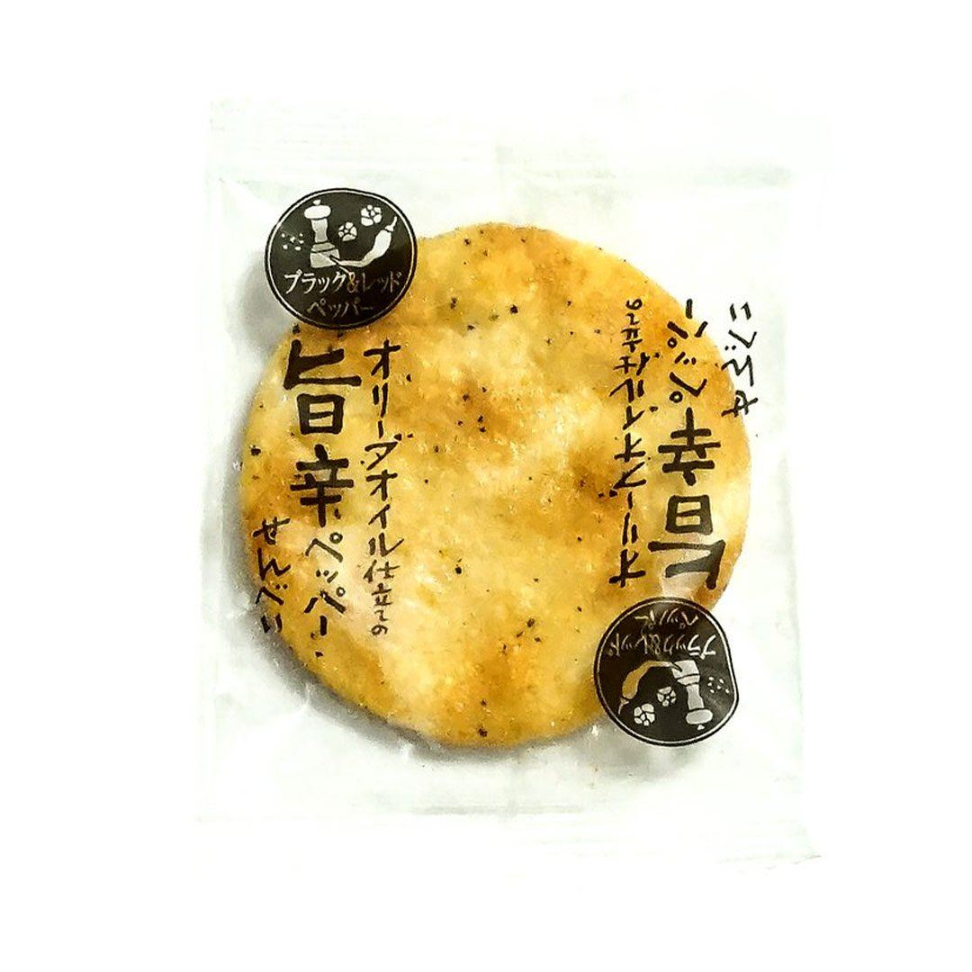 Olive Oil Senbei: Spicy Pepper