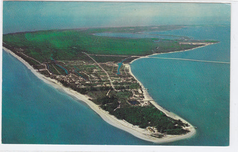 Aerial View of Sanibel Island-Florida Post Card - 1