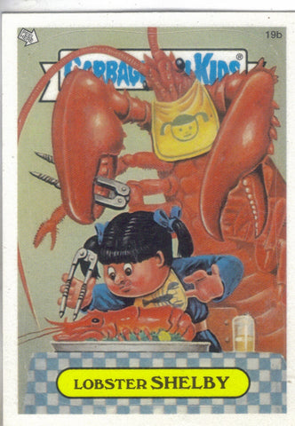 Garbage Pail Kids 2003 #19b Lobster Shelby