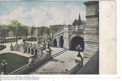 Side View,Grand Staircase,State Capitol-Albany,New York - Cakcollectibles