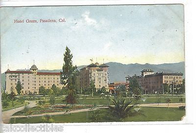 Hotel Green-Pasadena,California - Cakcollectibles