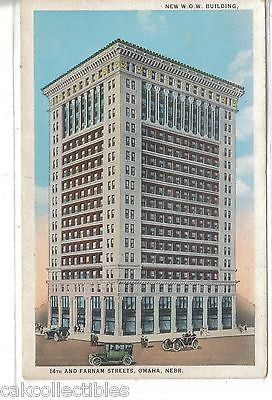 New W.O.W. Building-Omaha,Nebraska 1915 - Cakcollectibles