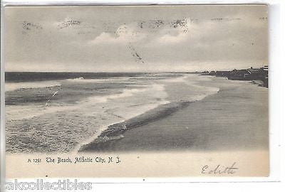The Beach-Atlantic City,New Jersey 1906 - Cakcollectibles