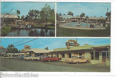Bon-Air Motel-Jesup,Georgia (Old Cars) - Cakcollectibles - 1