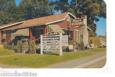 Ernie's Restaurant-North Woodstock,New Hampshire - Cakcollectibles