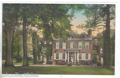 """Wheatland"",Home of James Buchanan-Lancaster,Pa. (Hand Colored) - Cakcollectibles"