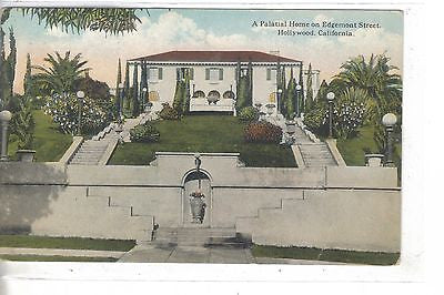 A Palatial Home on Edgemont Street-Hollywood,California - Cakcollectibles