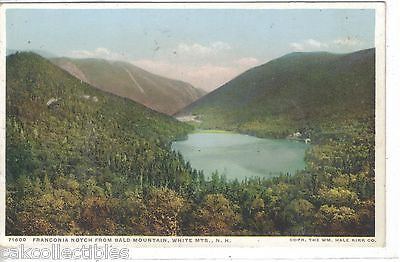 Franconia Notch from Bald Mountain-White Mts.,New Hampshire - Cakcollectibles