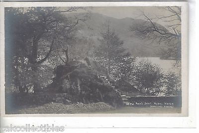 RPPC-The Poet's Seat-Rydal Water - Cakcollectibles