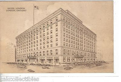 Hotel London-London,Ontario,Canada - Cakcollectibles