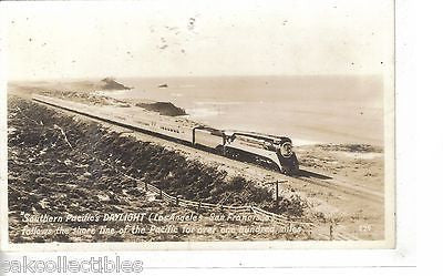 RPPC-Southern Pacific's Daylight (Los Angles to San Francisco) - Cakcollectibles - 1