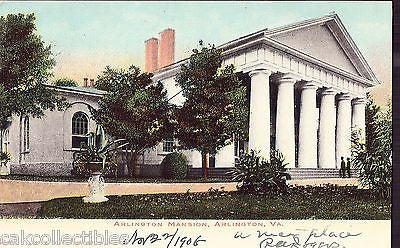 Arlington Mansion-Arlington,Virginia 1906 - Cakcollectibles