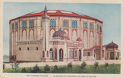 """The Cyclorama Building"" - Canada Postcard - Cakcollectibles - 1"