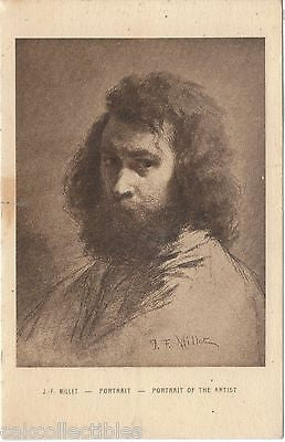 J.F. Millet-Portrait-Portrait of The Artsist - Cakcollectibles