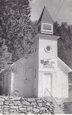 The Little Church In The Pines Salina, Colo. Postcard - Cakcollectibles - 1