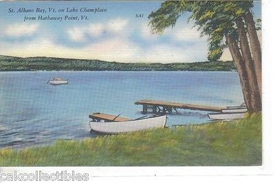 St. Albans Bay on Lake Champlain-Vermont - Cakcollectibles