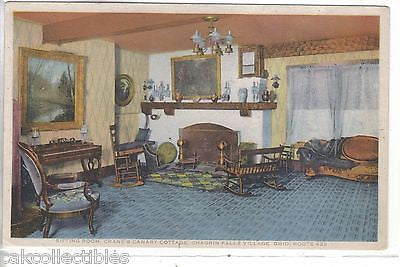 Sitting Room,Crane's Canary Cottage,Chagrin Falls Village-Ohio - Cakcollectibles
