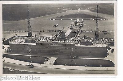 RPPC-Aerial View-Aerodrome-Berlin,Germany - Cakcollectibles - 1